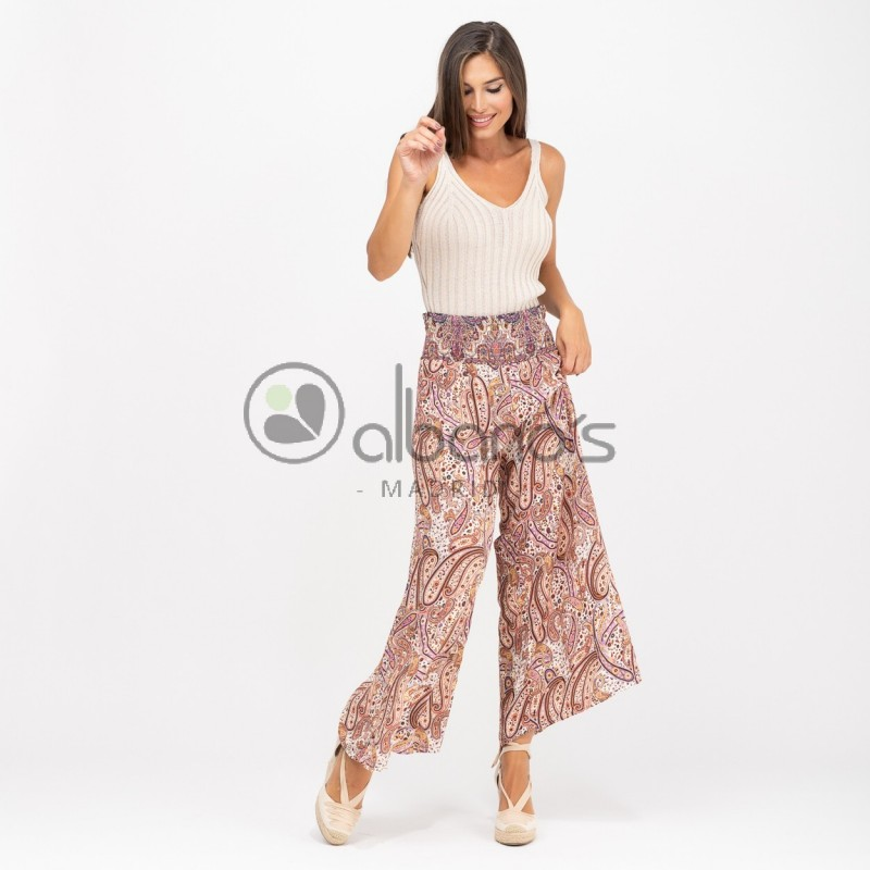 TROUSERS PRINT CASHMERE REF.24051-15