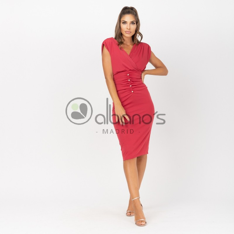 DRESS SHOULDER PADS AND BUTTONS REF. 424070-28