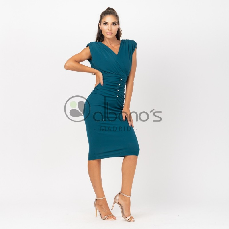 DRESS SHOULDER PADS AND BUTTONS REF. 424070-48