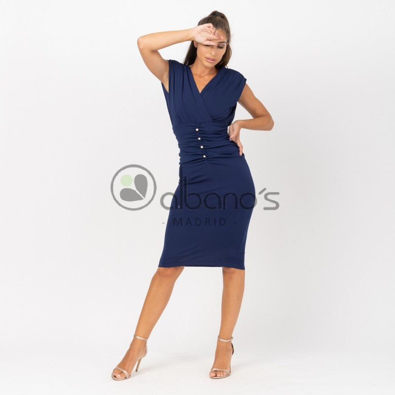 DRESS SHOULDER PADS AND BUTTONS REF. 424070-19