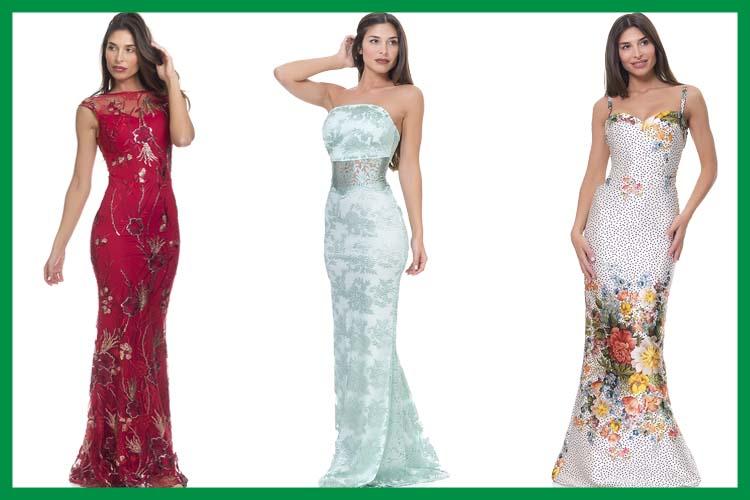 Tendencias vestidos de fiesta sirena